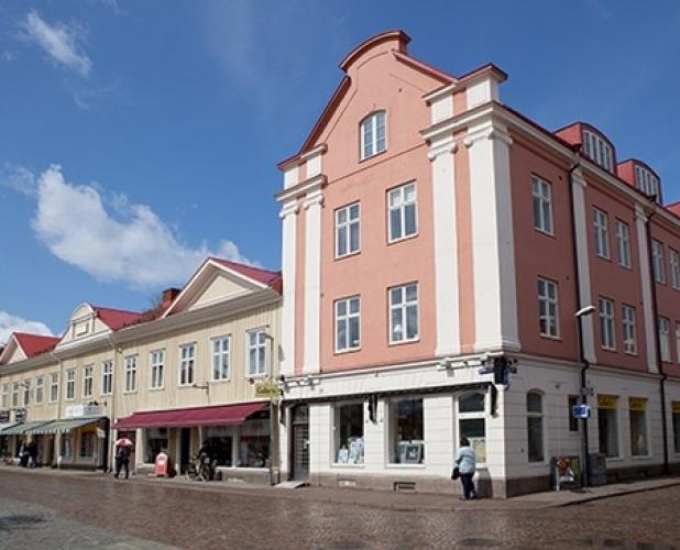 Östra Kyrkogatan 6-8, Torggatan, Kungsgatan 14