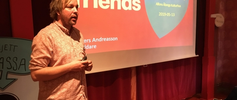 Tillsammans med Friends på Alfons Åbergs Kulturhus 14 maj