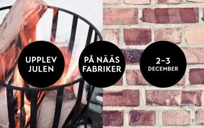 Julmarknad 2-3 december på Nääs Fabriker