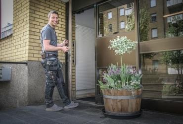 Möt Andreas Björkner i vardagen på Ernst Rosén