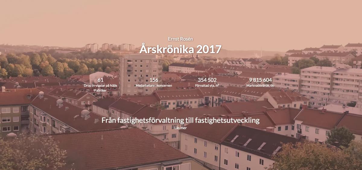 Nu är Årskrönikan 2017 live